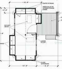 Minimaliste for Plan maison minimaliste