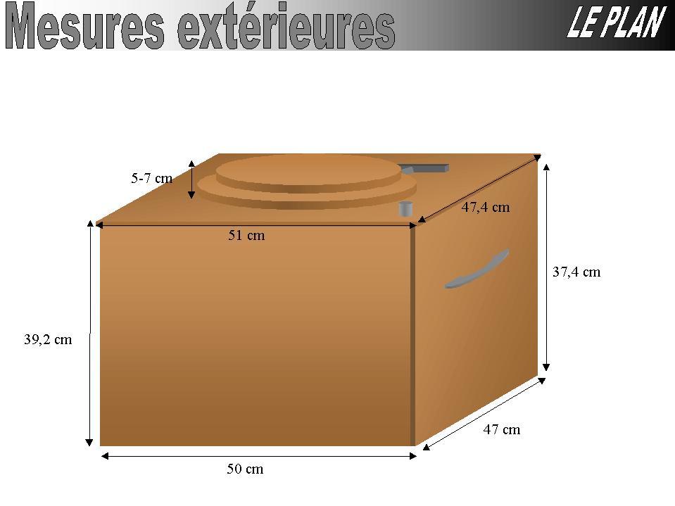 plans pour une toilette s che. Black Bedroom Furniture Sets. Home Design Ideas